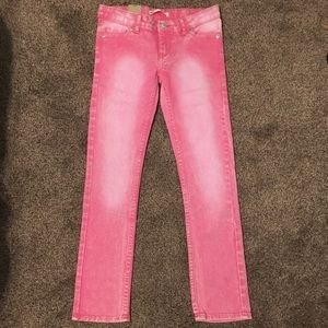 Levi's Girls Pink Skinny Jeans